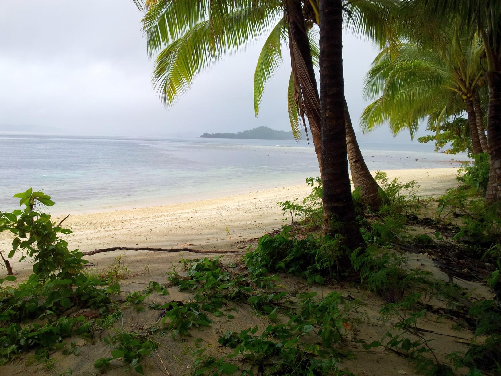 on Hawk Island